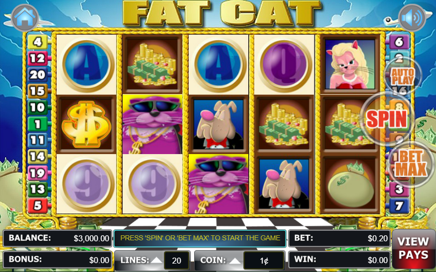 Lincoln Casino WGS Technology Fat Cat
