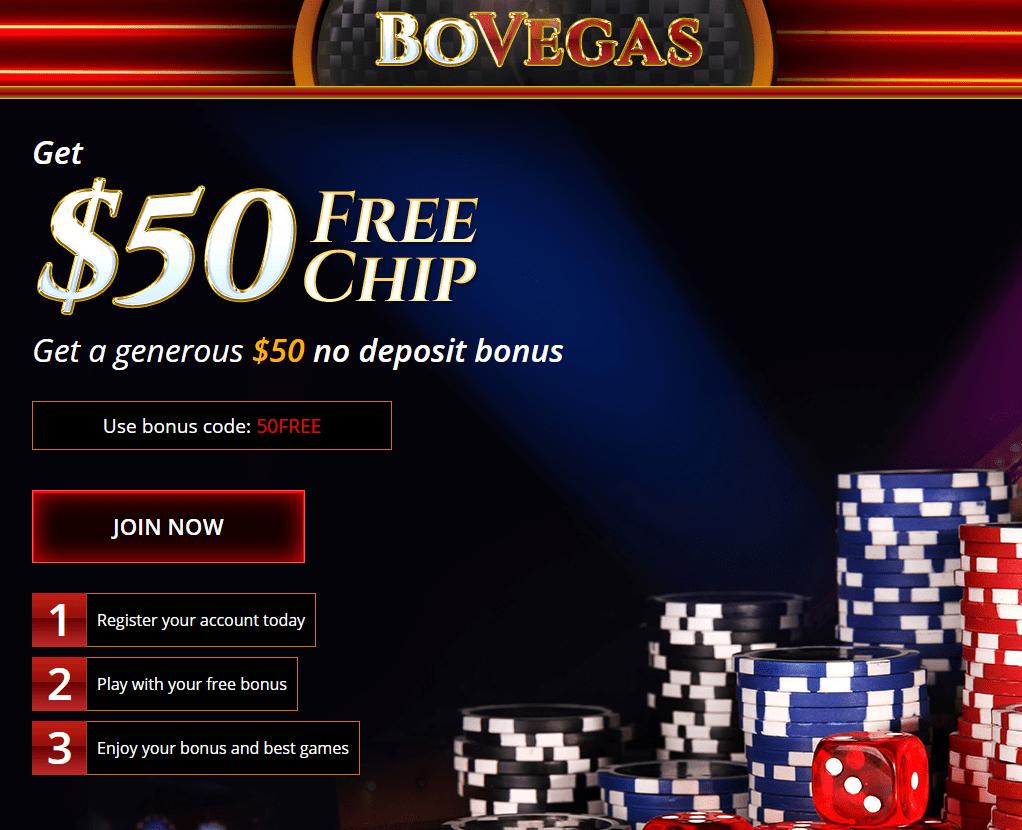 Bovegas Casino 50 Free No Deposit Bonus Casino Bonus Codes 365