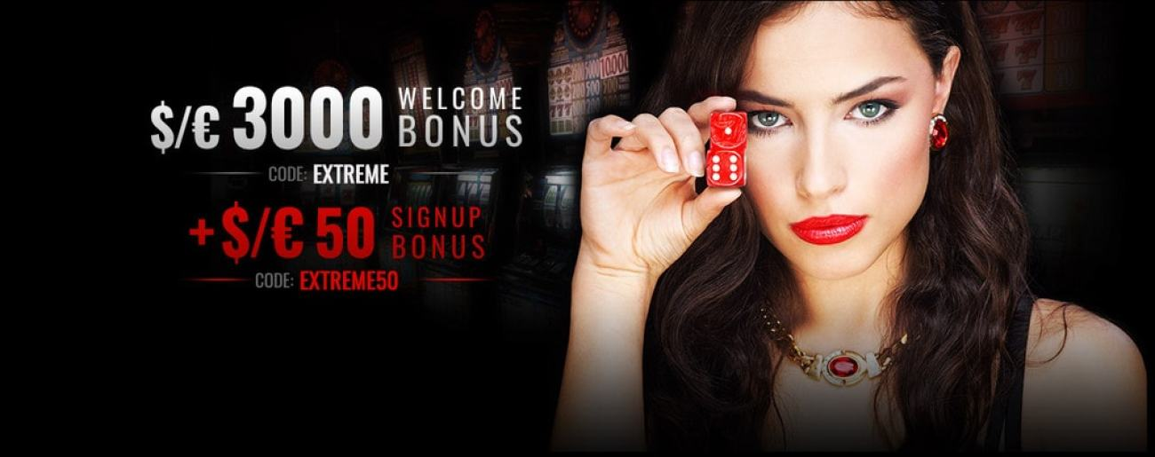 Casino Extreme Bitcoin Accepted Welcome Bonus RTG
