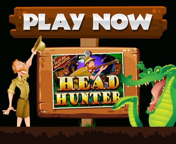 SlotMadness Casino RTG Head Hunter $25 FREE Chip