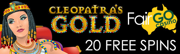 Fair Go Casino Cleopatra's Gold