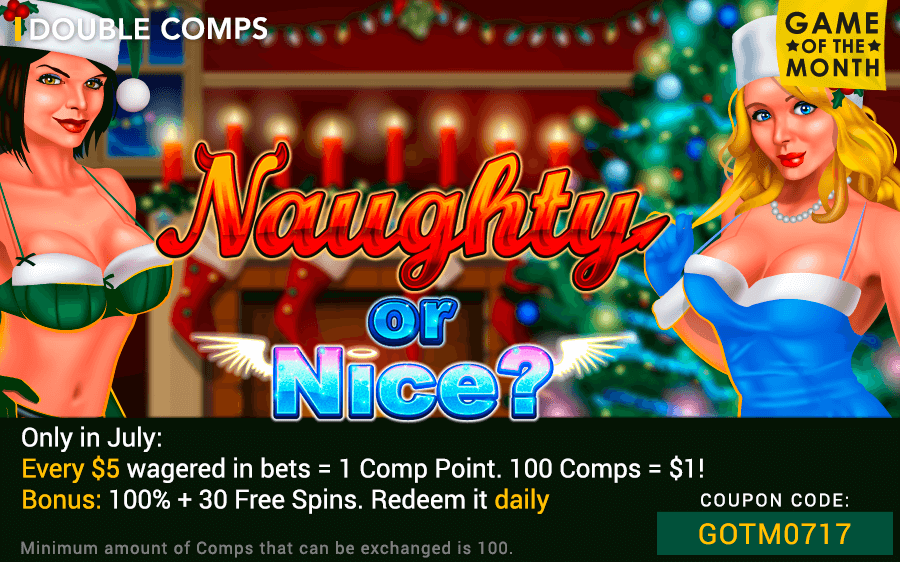 Fair Go Casino RTG Naughty or Nice Game of the Month