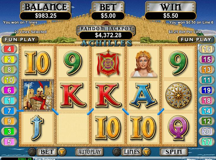 Intertops Casino Red RTG Achilles