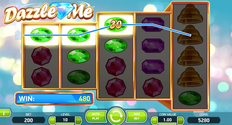 GrandWild CasinonetEnt Dazzle Me