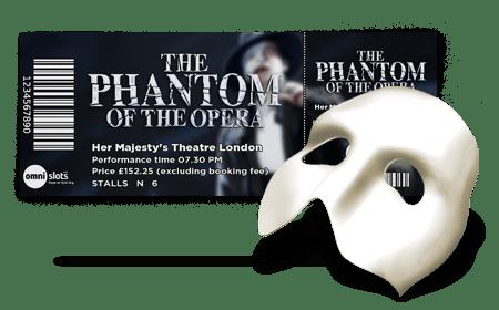 Omni Slots NetEnt The Phantom of the Opera