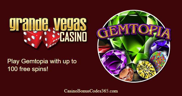 Grande Vegas Casino RTG Gemtopia