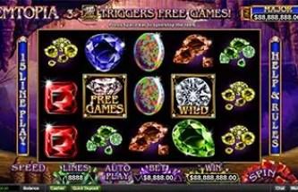 Intertops Casino Red New Game RTG Gemtopia Deposit Bonus plus FREE Spins