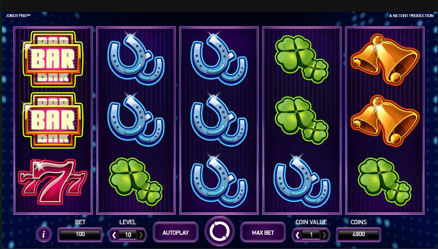 GrandWild Casino NetEnt Joker Pro