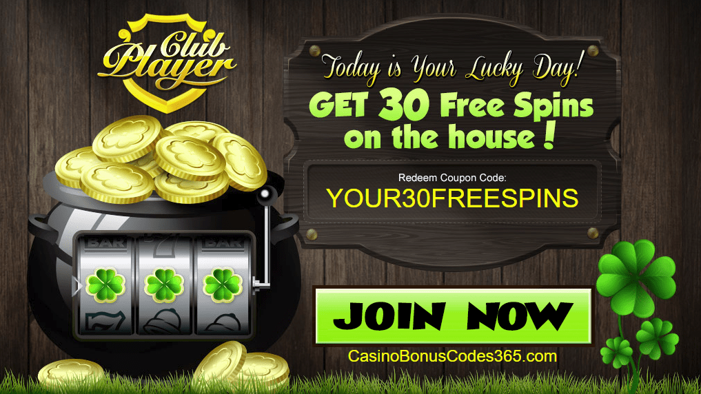 Club Player Casino RTG 30 FREE Spins on Lucky 8