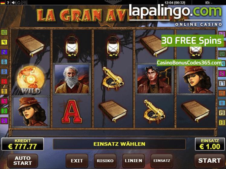 Online Casino Lapalingo