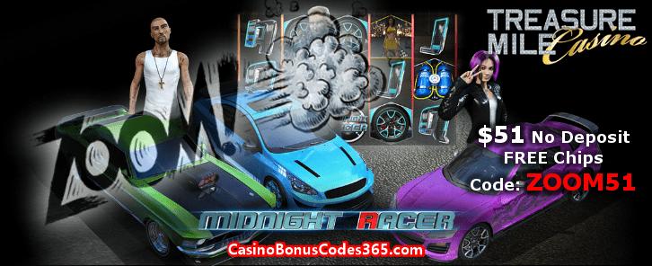 Treasure mile casino no deposit bonus code 2013 3d casino objects for games