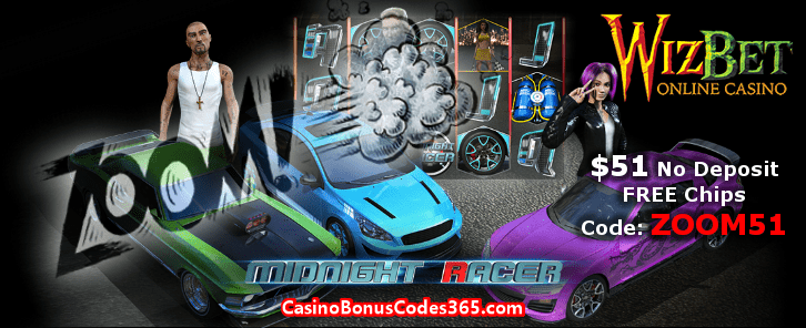 WizBet Online Casino ZOOM51 November No Deposit FREE Chips Promo