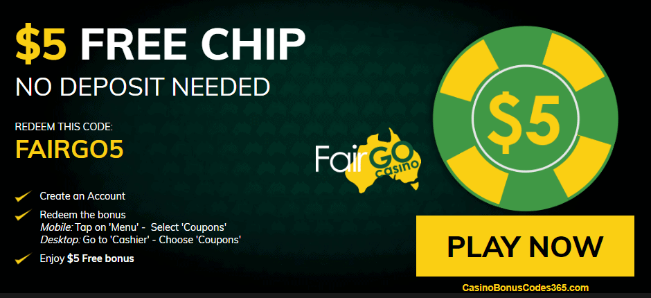 Free chip online casino usa