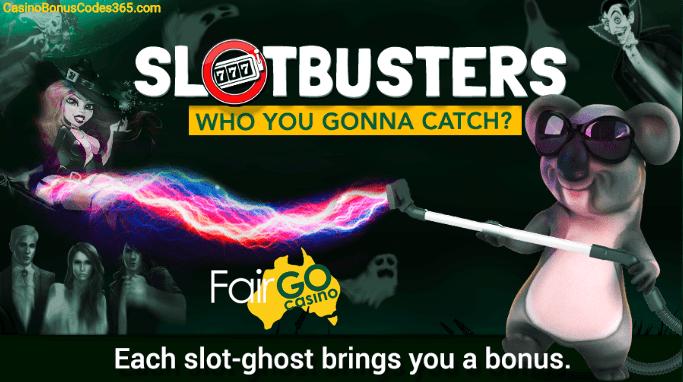 Fair Go Casino RTG Halloween Slotbusters Promo
