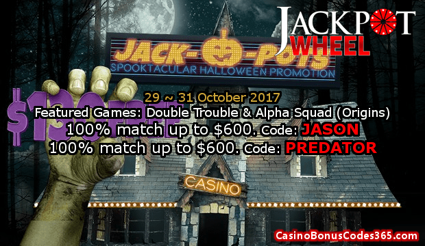 Jackpot Wheel Halloween Promotion Final Week