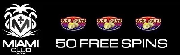 Miami Club Casino 50 FREE Spins