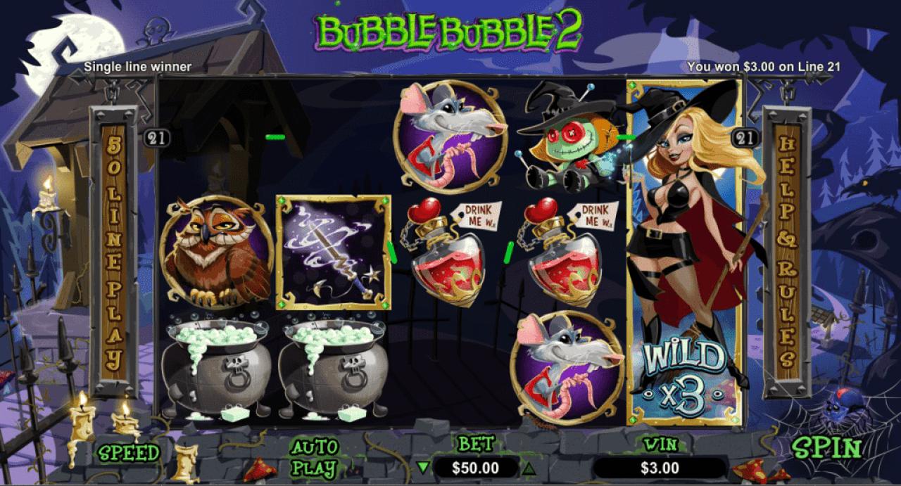 Grande Vegas Casino RTG Bubble Bubble 2