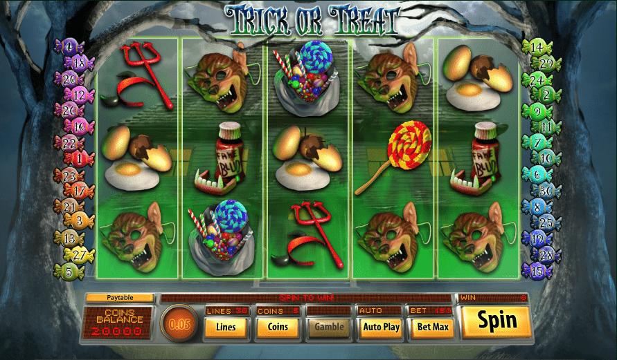WizBet Online Casino Saucify Trick or Treat