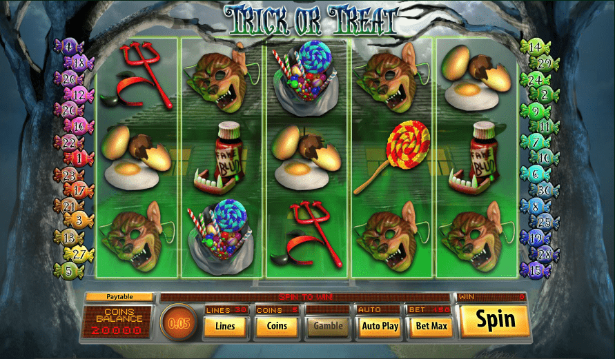 Jupiter Club Casino Saucify Trick or Treat