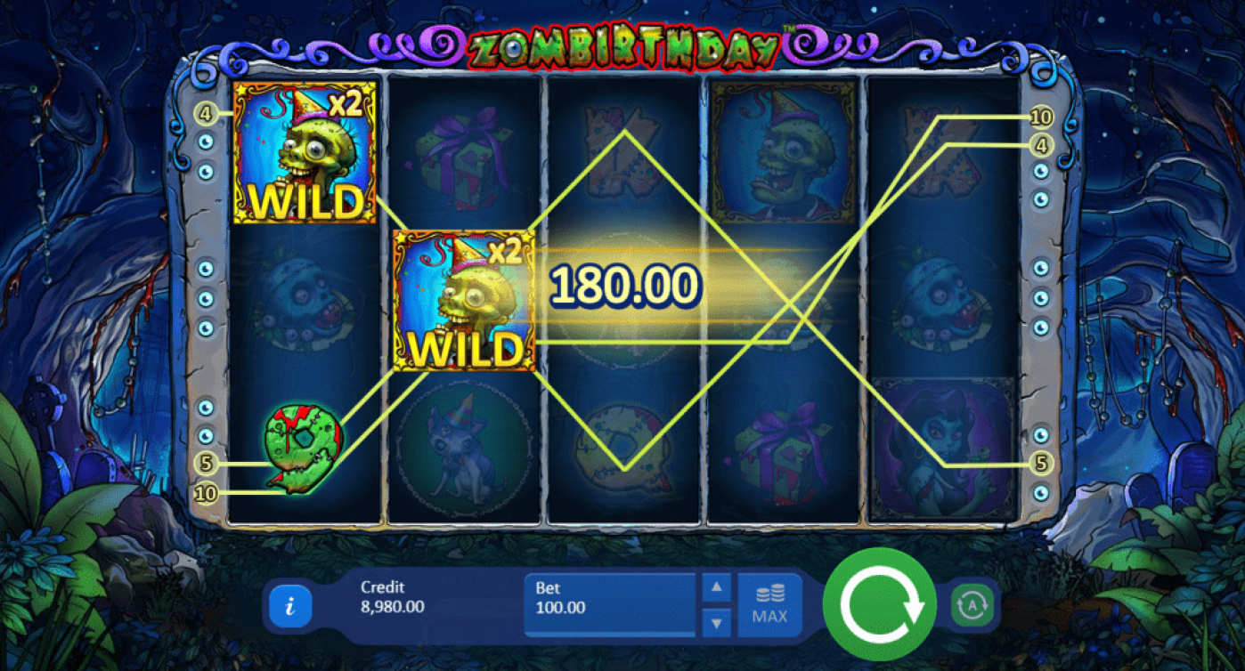 Bet N Spin Zombirthday 50 No Deposit FREE Spins