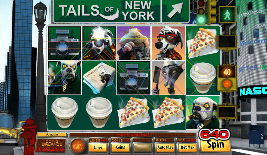 Grand Eagle Casino Saucify Tails of New York Black Friday Deals 2017 100 FREE Spins