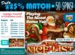 SlotoCash Casino Christmas Luck Daily 225% Match Bonus plus 50 FREE Spins
