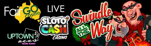 SlotoCash Casino Uptown Aces Fair Go Casino RTG Swindle All The Way LIVE