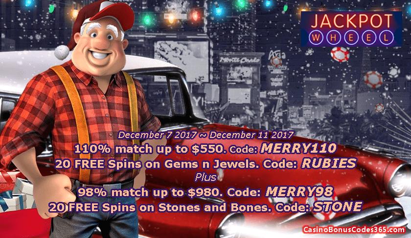 Jackpot Wheel Christmas Promo