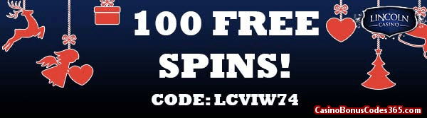 Lincoln Casino 100 FREE Spins WGS Turkey Time