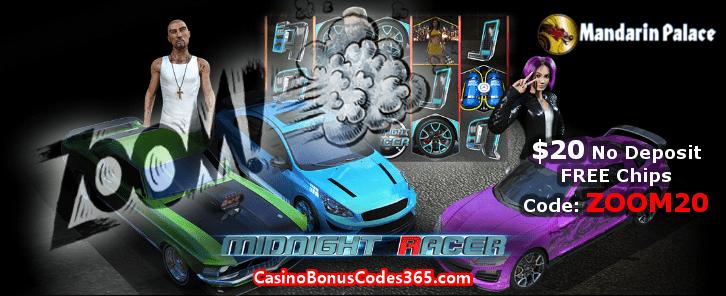 Mandarin Palace Online Casino $20 No Deposit FREE Chips
