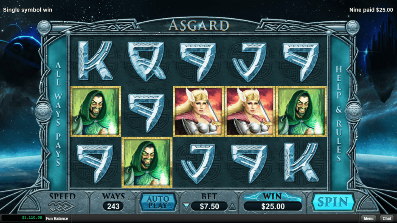 Las Vegas USA Casino RTG New Game Asgard