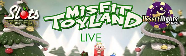 Slots Capital Online Casino Desert Nights Casino Rival Gaming Misfit Toyland