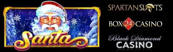 Spartan Slots Box 24 Casino Black Diamond Casino Pragmatic Play Santa New Game