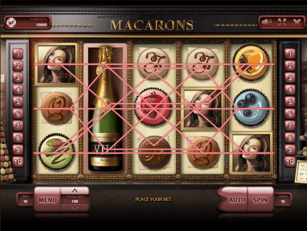 VIP Spel Casino Endorphina Macarons 30 FREE Spins