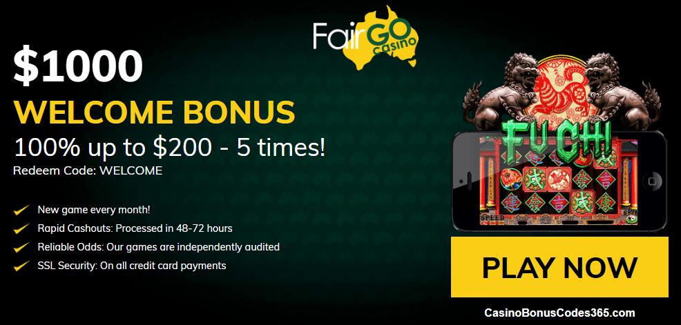 Fair Go Casino RTG Fu Chi