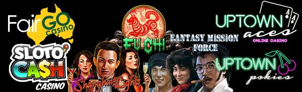 SlotoCash Casino Uptown Aces Uptown Pokies 3 New RTG Games Shanghai Lights Fantasy Mission Force Fu Chi