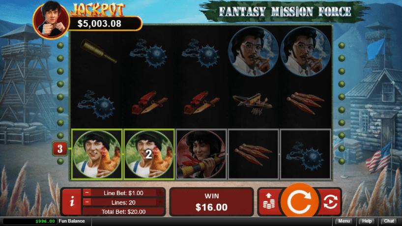 Kudos Casino RTG Fantasy Mission Force