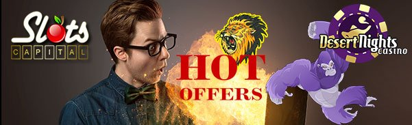 Slots Capital Online Casino Desert Nights Casino Rival Gaming Hot Offers