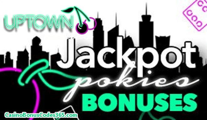 Uptown Pokies 50% Jackpot Bonus up to $500