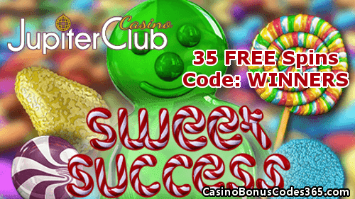 Jupiter Club Casino 35 Free Sweet Success Spins Casino Bonus