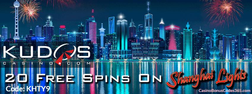 Kudos Casino New RTG Game Shanghai Lights