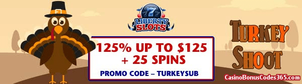 Liberty Slots March 2018 125% up to $125 plus WGS Cash Cow 25 Spins