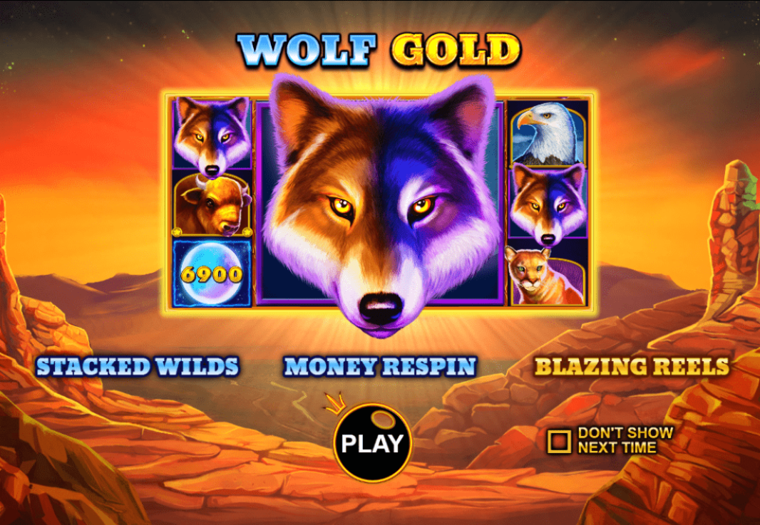 SlotoHit Pragmatic Play Wolf Gold