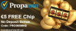 PropaWin Casino €5 No Deposit FREE Chip