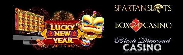 Spartan Slots Box 24 Casino Black Diamond Casino Pragmatic Play Lucky New Year LIVE