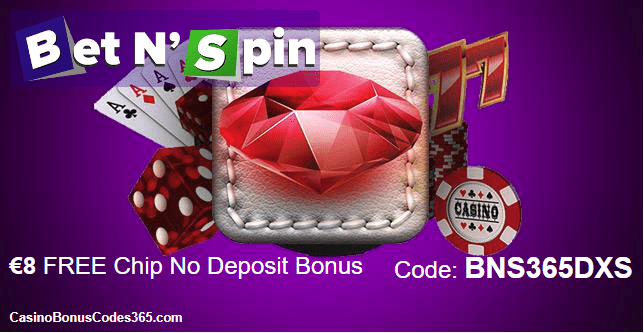 Bet N Spin Exclusive €8 FREE Chip Exclusive Deal