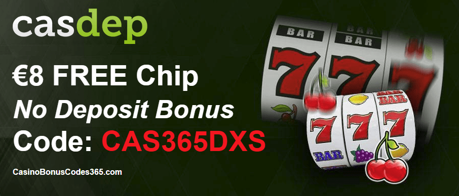 Casdep Casino Red Exclusive March Deal  €8 FREE Chip