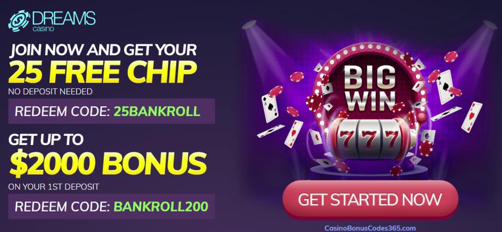Dreams no deposit bonus codes directeur geant casino aix en provence