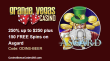Grande Vegas 250% Deposit Bonus up to $250 and 150 free spins for Asgard on top RTG