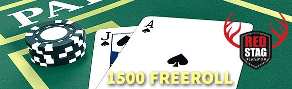 Red Stag Casino Something up your sleeve $1500 Freeroll Tournament